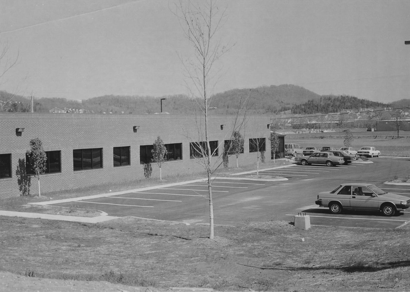 Операционный центр сразу после открытия, 1990 год