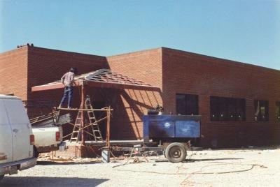 Возведение внешней коробки здания