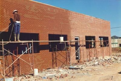 Строительство офиса в Нэшвилле, осень 1989 г.
