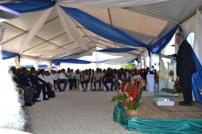 Торжественная церемония официального открытия станции