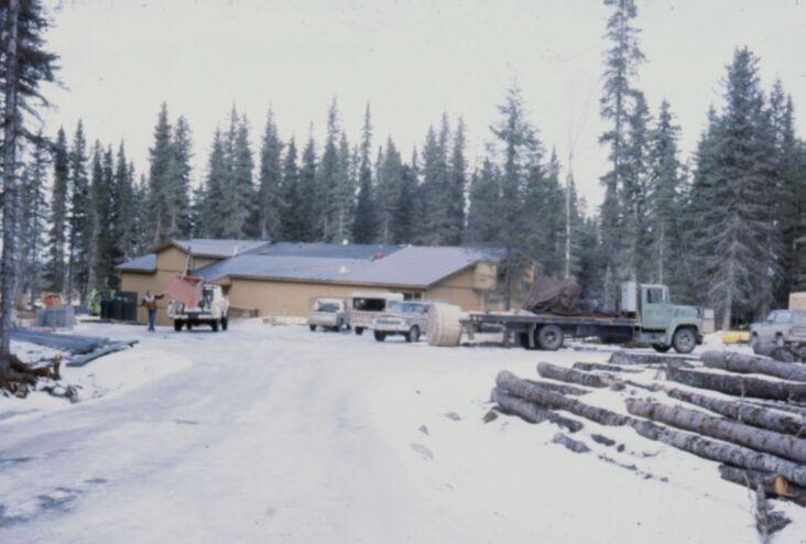 КНЛС зимой, январь 1983 года