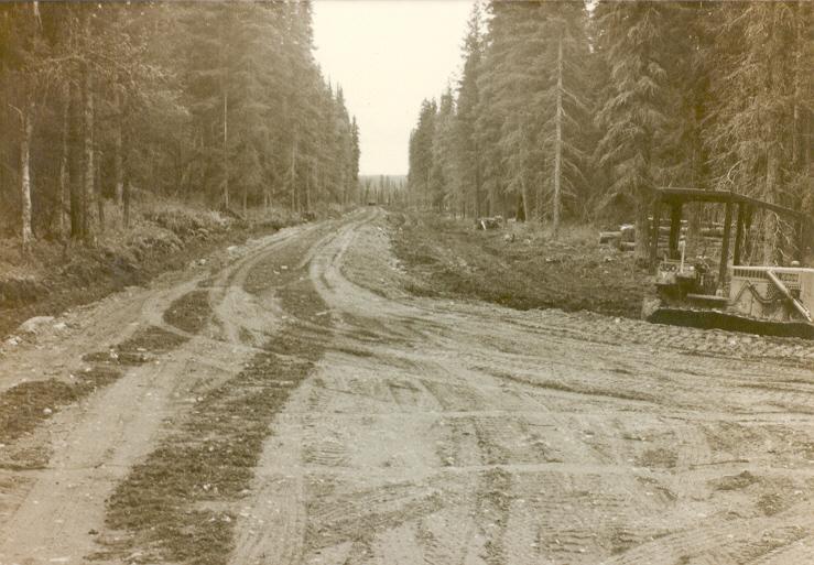 Дорога к станции готова