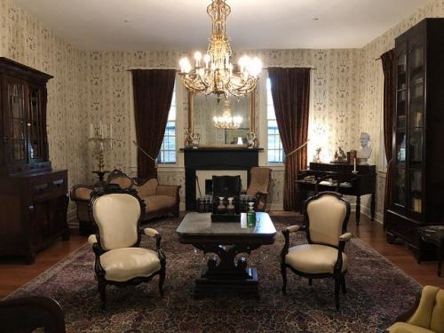 Обстановка в первом Белом Доме Конфедерации