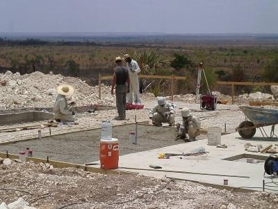 Подготовка фундамента для здания с дизельными генераторами